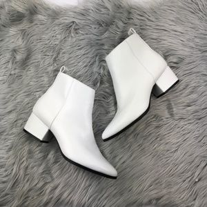 NWOT A New Day White Ankle Go-Go Booties